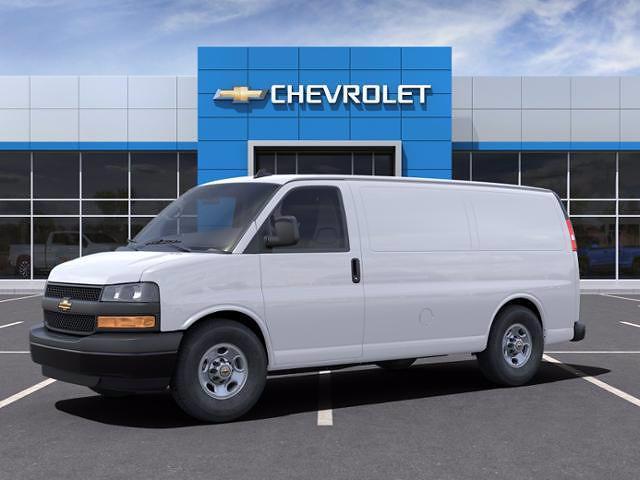 2021 Chevrolet Express 2500 4x2, Masterack Upfitted Cargo Van #C04343 - photo 4