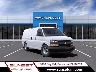 2021 Chevrolet Express 2500 4x2, Masterack Upfitted Cargo Van #C04343 - photo 1