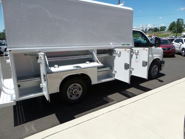 2017 Savana 3500, Reading Aluminum CSV Service Utility Van #75147 - photo 16