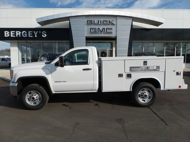 2018 Sierra 2500 Regular Cab 4x4, Reading SL Service Body Service Body #75650 - photo 2