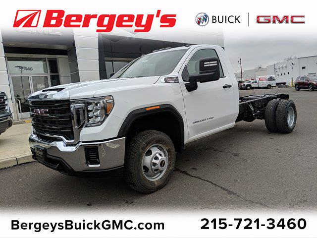 2021 GMC Sierra 3500 Regular Cab 4x4, Cab Chassis #78219 - photo 1