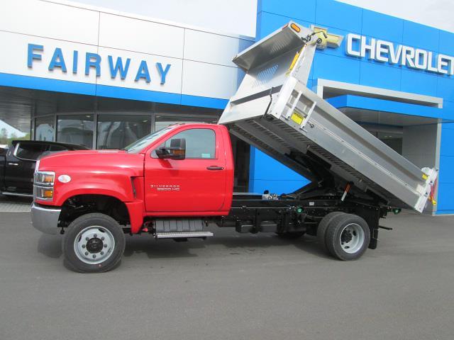 2021 Silverado 6500 Regular Cab DRW 4x4,  Duramag Dump Body #31185 - photo 8