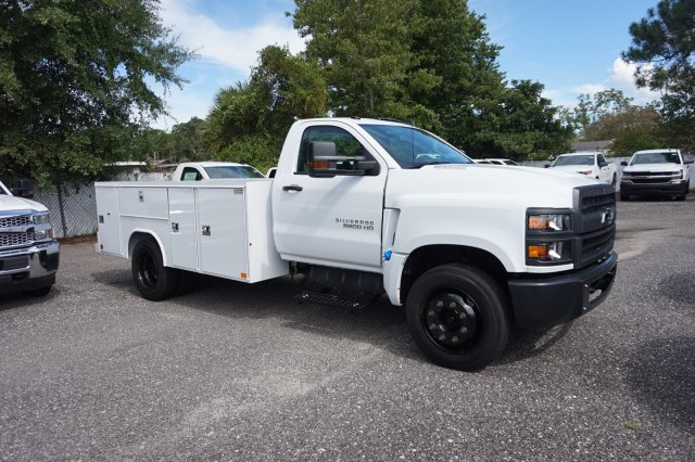 2019 Silverado 5500 Regular Cab DRW 4x2, Reading Service Body #19C1010 - photo 1