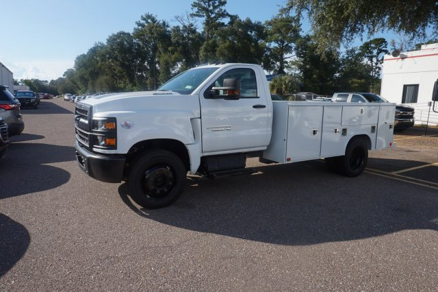 2019 Silverado 5500 Regular Cab DRW 4x2, Reading SL Service Body #19C1319 - photo 3
