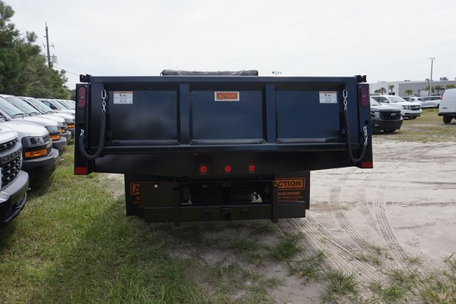 2019 Silverado Medium Duty Regular Cab DRW 4x2,  Action Fabrication Dump Body #19C1360 - photo 1