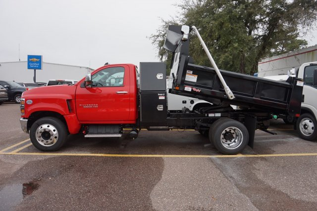 2019 Silverado 5500 Regular Cab DRW 4x2, Rugby Eliminator LP Steel Dump Body #19C1406 - photo 2