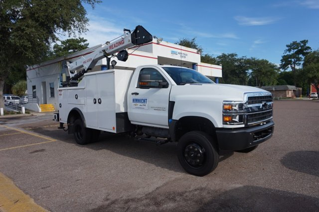 2019 Silverado Medium Duty Regular Cab 4x4,  Reading Mechanics Body #19C1419 - photo 1