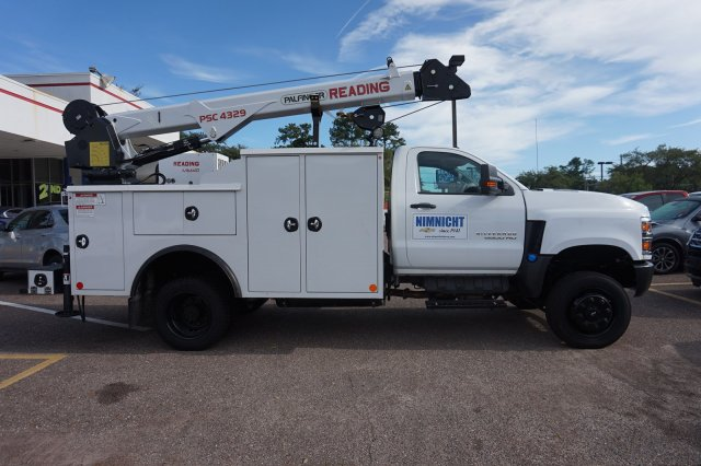 2019 Silverado Medium Duty Regular Cab DRW 4x4,  Reading Master Mechanic HD Crane Mechanics Body #19C1419 - photo 5