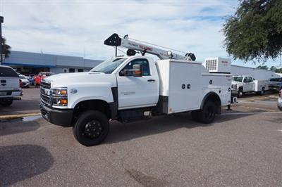 2019 Silverado Medium Duty Regular Cab DRW 4x4,  Reading Master Mechanic HD Crane Mechanics Body #19C1419 - photo 4
