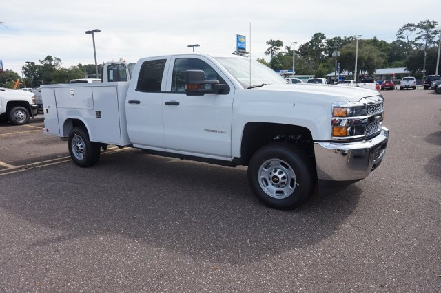2019 Silverado 2500 Double Cab 4x2,  Monroe MSS II Service Body #19C1432 - photo 1