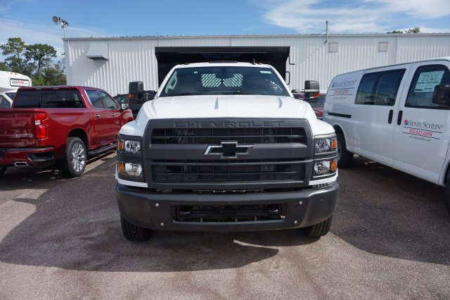 2019 Silverado Medium Duty Regular Cab DRW 4x2,  Rugby Contractor Dump Body #19C1493 - photo 3