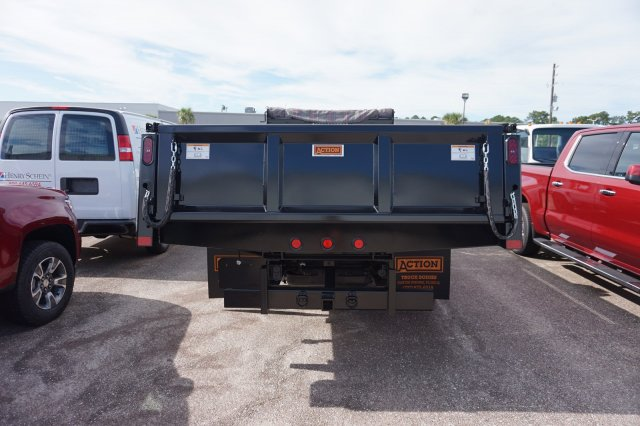 2019 Silverado Medium Duty Regular Cab DRW 4x2,  Rugby Contractor Dump Body #19C1493 - photo 2