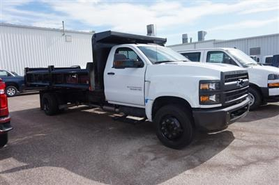 2019 Silverado Medium Duty Regular Cab DRW 4x2,  Rugby Contractor Dump Body #19C1493 - photo 1