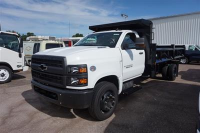2019 Silverado Medium Duty Regular Cab DRW 4x2,  Rugby Contractor Dump Body #19C1493 - photo 4