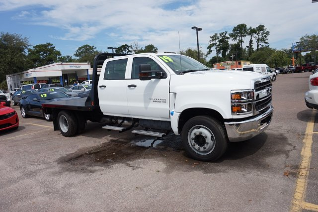 2019 Silverado Medium Duty Crew Cab DRW 4x2,  CM Truck Beds Platform Body #19C1505 - photo 1