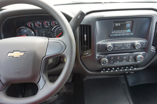 2019 Silverado Medium Duty Crew Cab DRW 4x2,  CM Truck Beds RD Model Platform Body #19C1505 - photo 8