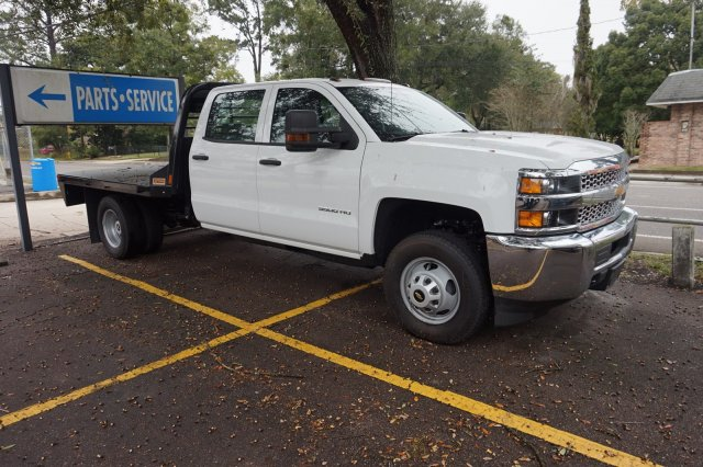 2019 Silverado 3500 Crew Cab DRW 4x2, Action Fabrication Platform Body #19C1522 - photo 1