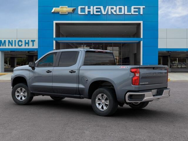 2019 Silverado 1500 Crew Cab 4x4,  Pickup #19C1550 - photo 4