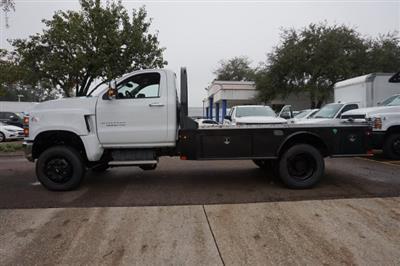 2019 Silverado Medium Duty Regular Cab DRW 4x4, Platform Body #19C1607 - photo 2