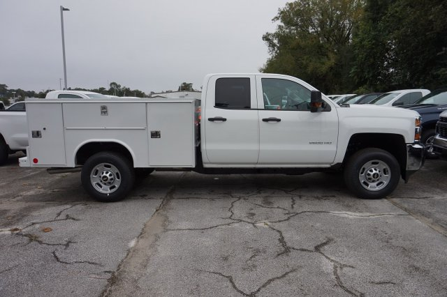 2019 Silverado 2500 Double Cab 4x2, Service Body #19C1615 - photo 1