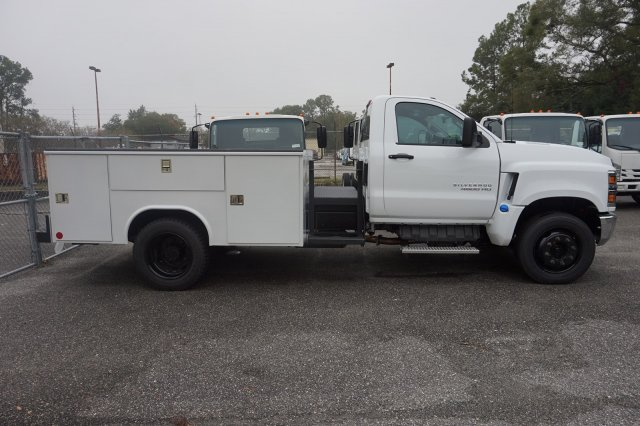 2019 Silverado Medium Duty Regular Cab DRW 4x2, Service Body #19C1629 - photo 1
