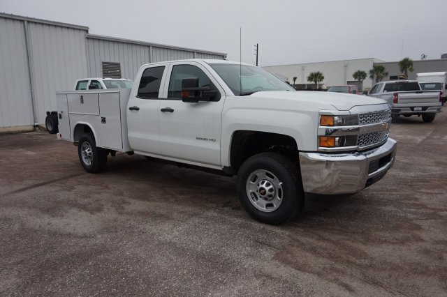 2019 Silverado 2500 Double Cab 4x2, Service Body #19C1638 - photo 1