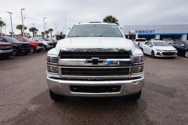 2019 Silverado 4500 Crew Cab DRW 4x2, Action Fabrication Platform Body #19C1640 - photo 3