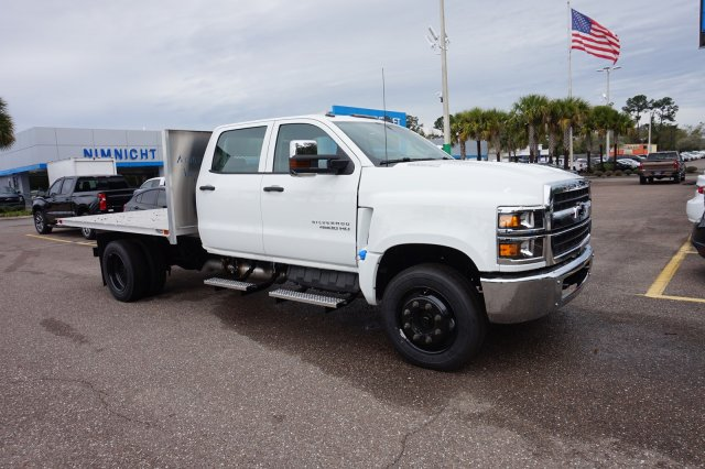 2019 Silverado 4500 Crew Cab DRW 4x2, Action Fabrication Platform Body #19C1640 - photo 1