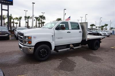 2019 Silverado 4500 Crew Cab DRW 4x2, Action Fabrication Platform Body #19C1640 - photo 4