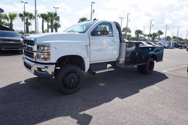 2019 Chevrolet Silverado 4500 Regular Cab DRW 4x4, CM Truck Beds TM Deluxe Platform Body #19C1655 - photo 4