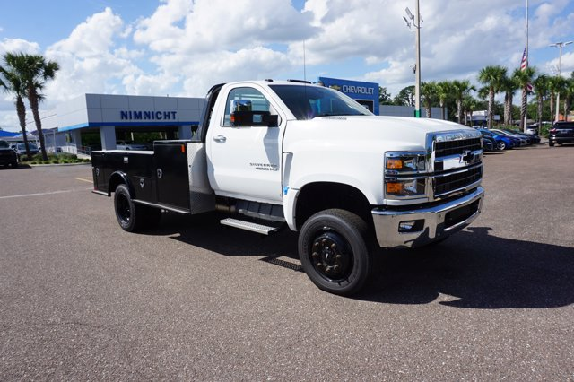 2019 Chevrolet Silverado 4500 Regular Cab DRW 4x4, CM Truck Beds TM Deluxe Platform Body #19C1655 - photo 1