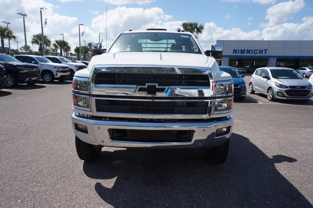 2019 Chevrolet Silverado 4500 Regular Cab DRW 4x4, CM Truck Beds SK Model Platform Body #19C1656 - photo 3