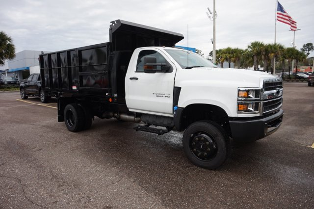 2019 Silverado 5500 Regular Cab DRW 4x4, Reading Landscape Dump #19C1695 - photo 1