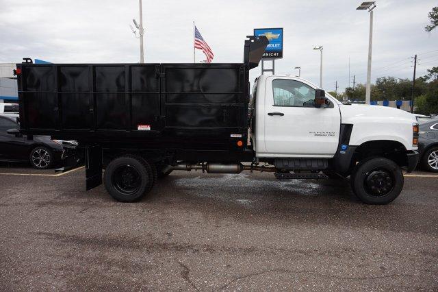 2019 Silverado 5500 Regular Cab DRW 4x4, Reading Landscaper SL Landscape Dump #19C1695 - photo 5