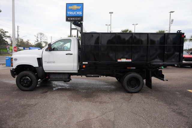 2019 Silverado 5500 Regular Cab DRW 4x4, Reading Landscaper SL Landscape Dump #19C1695 - photo 6