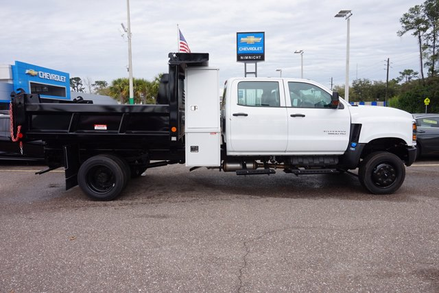 2019 Silverado 5500 Crew Cab DRW 4x4, Reading Marauder Dump Body #19C1704 - photo 5