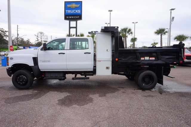 2019 Silverado 5500 Crew Cab DRW 4x4, Reading Marauder Dump Body #19C1704 - photo 6