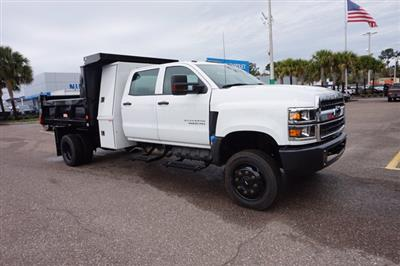 2019 Silverado 5500 Crew Cab DRW 4x4, Reading Marauder Dump Body #19C1704 - photo 1