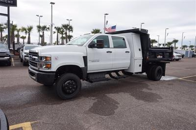 2019 Silverado 5500 Crew Cab DRW 4x4, Reading Marauder Dump Body #19C1704 - photo 4