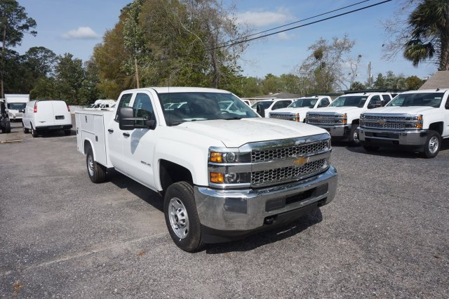 2019 Silverado 2500 Double Cab 4x2,  Reading Service Body #19C320 - photo 5