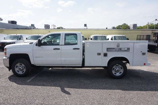 2019 Silverado 2500 Double Cab 4x2,  Reading Service Body #19C320 - photo 9