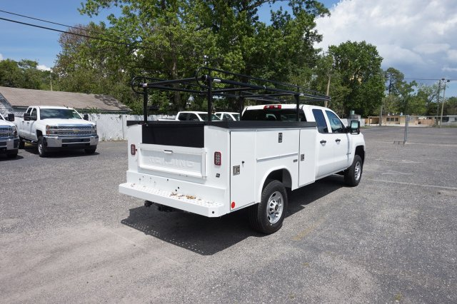 2019 Silverado 2500 Double Cab 4x2,  Reading SL Service Body #19C325 - photo 2