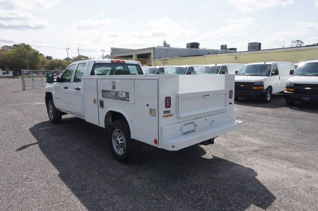 2019 Silverado 2500 Double Cab 4x2,  Reading Service Body #19C338 - photo 2