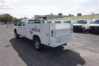 2019 Silverado 2500 Double Cab 4x2,  Reading SL Service Body #19C338 - photo 2