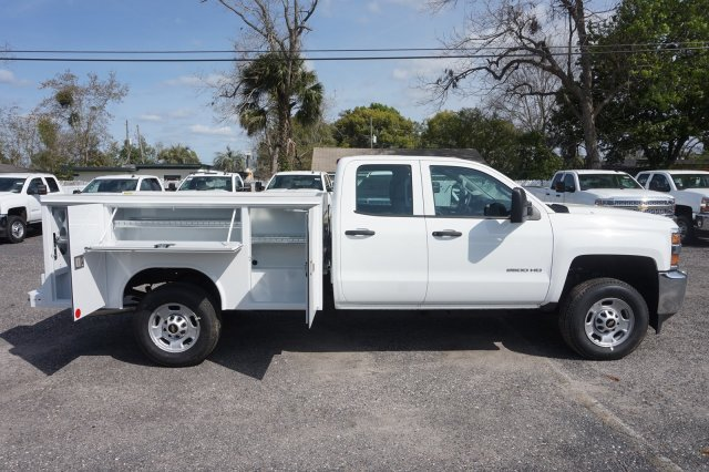 2019 Silverado 2500 Double Cab 4x2,  Reading Service Body #19C347 - photo 7
