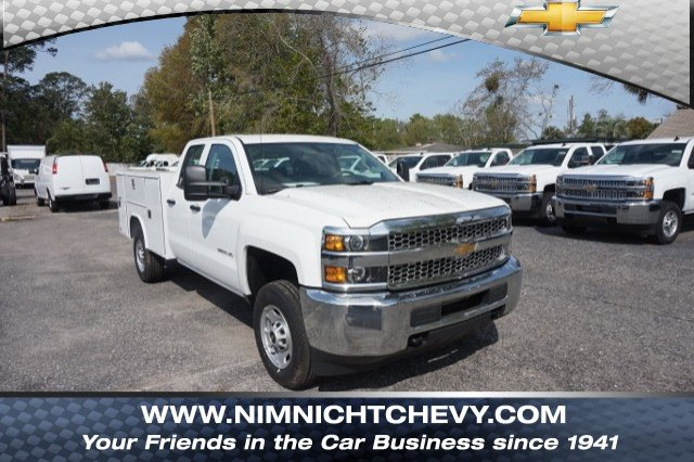 2019 Silverado 2500 Double Cab 4x2,  Reading Service Body #19C442 - photo 1
