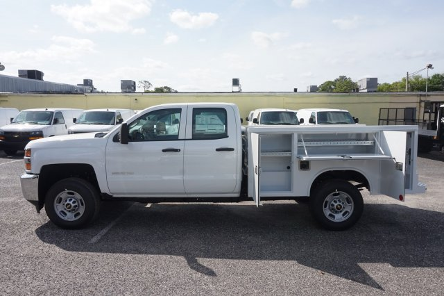 2019 Silverado 2500 Double Cab 4x2,  Reading Service Body #19C442 - photo 10