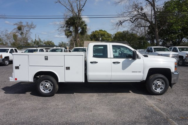 2019 Silverado 2500 Double Cab 4x2,  Reading Service Body #19C442 - photo 6