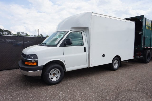 2019 Express 3500 4x2, Supreme Spartan Cargo Cutaway Van #19G108 - photo 1