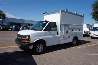 2019 Express 3500 4x2,  Rockport Workport Service Utility Van #19G47 - photo 3